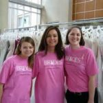 Volunteers to help Brides for Breast Cancer