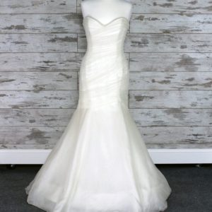 Enzoani A-line Wedding Dress (Ivory)