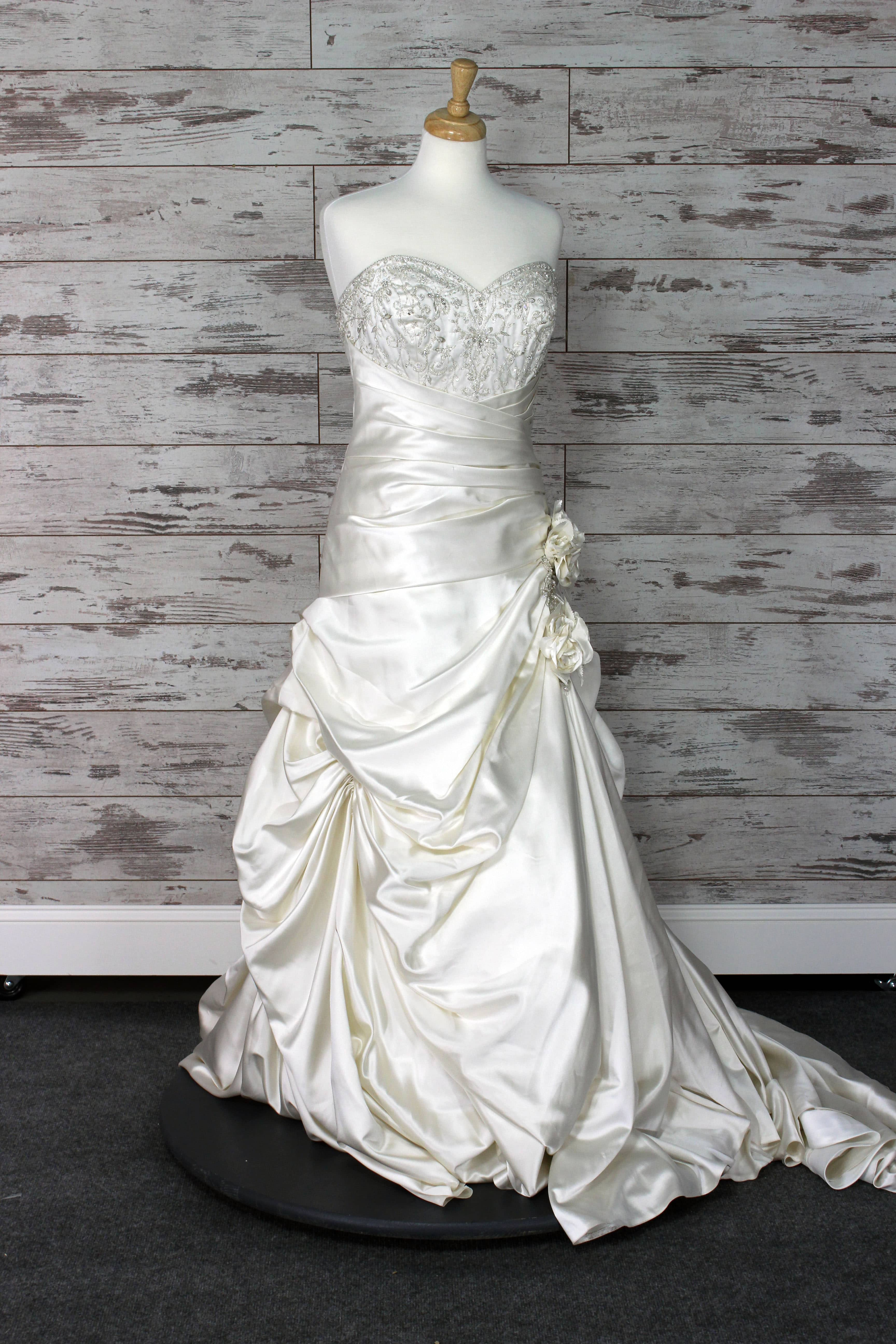 Private Label Sweetheart Wedding Dress Size 10