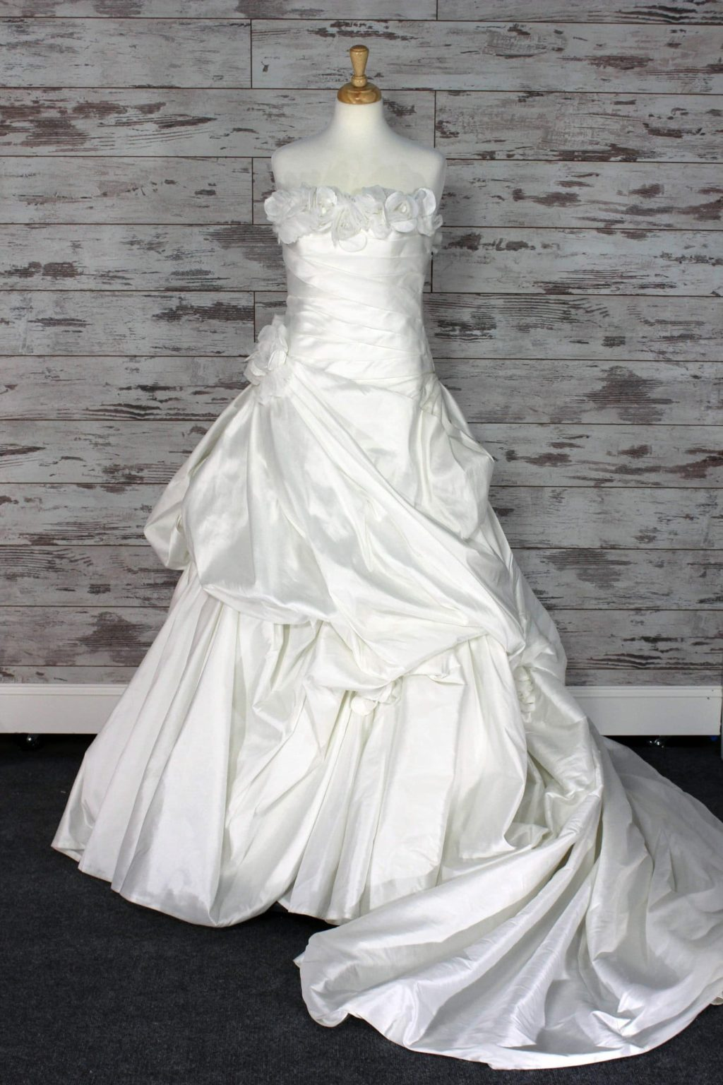 Private Label Strapless Wedding Dress Size