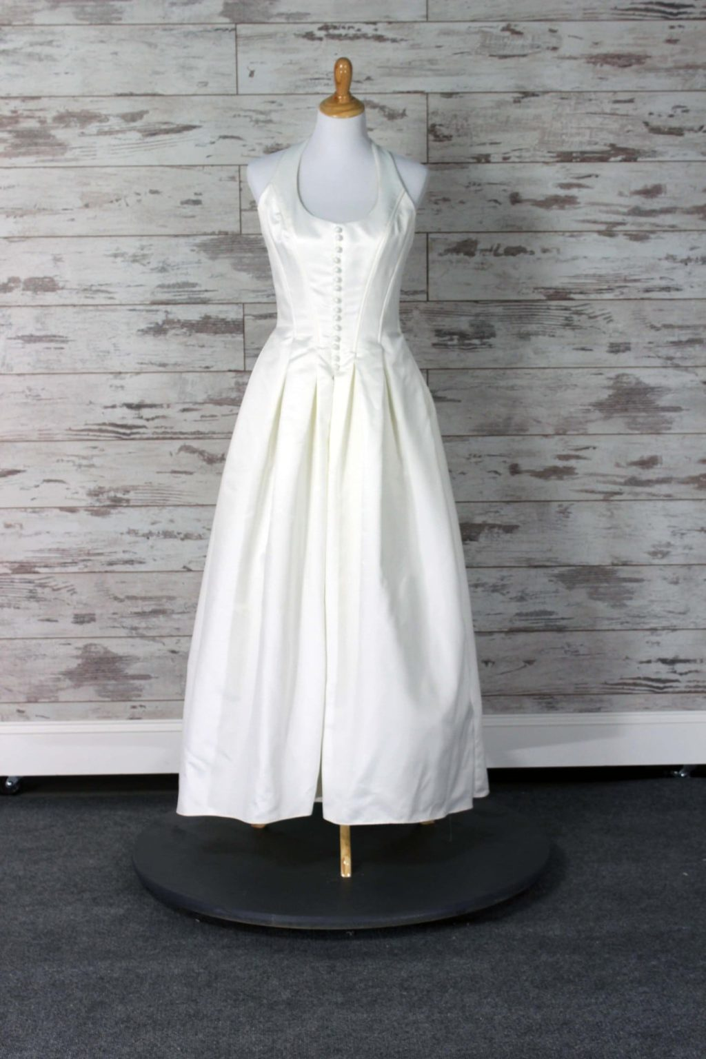 Custom Label Strapless Wedding Dress Size 8