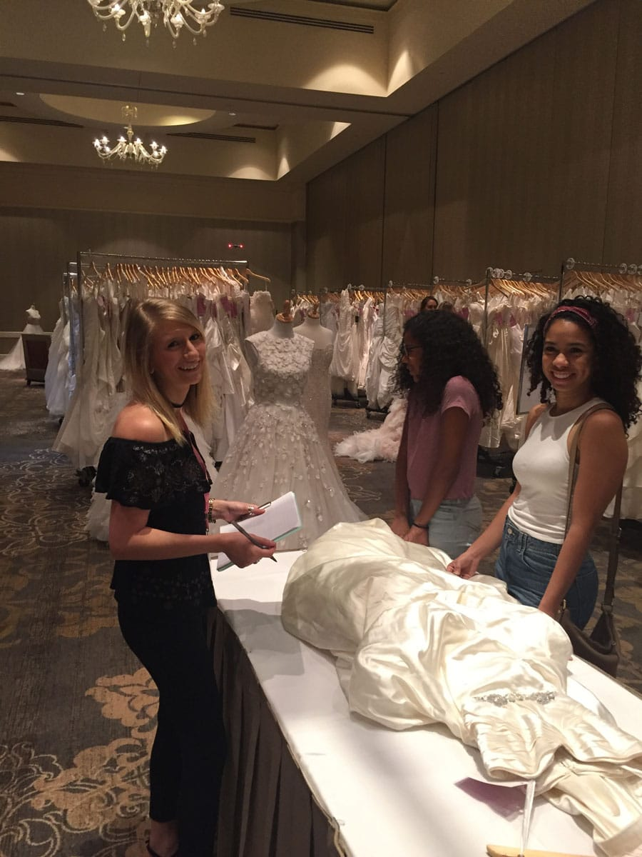 Held At The Intercontinental Hotel Buckhead Brides Could For Dresses On Site Meet Vendors And Won Some Amazing Prizes
