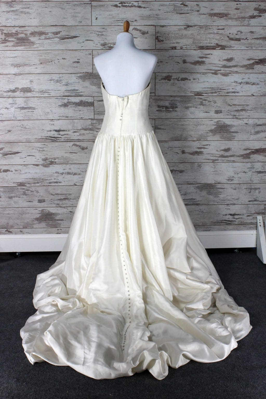 Private Label Ball Gown Wedding Dress (Cream) , Size 6