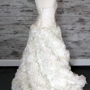 Jordan Fashions A-line Wedding Dress (Ivory)