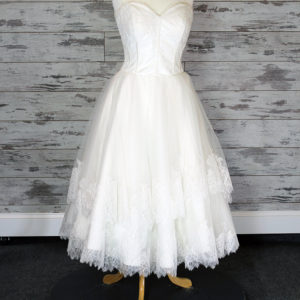 Bridal Australia Fit -And- Flare Wedding Dress (Ivory)